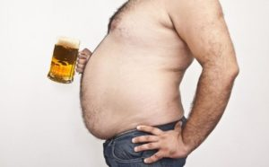 For most people, it's impossible to have a six pack and drink one, too.